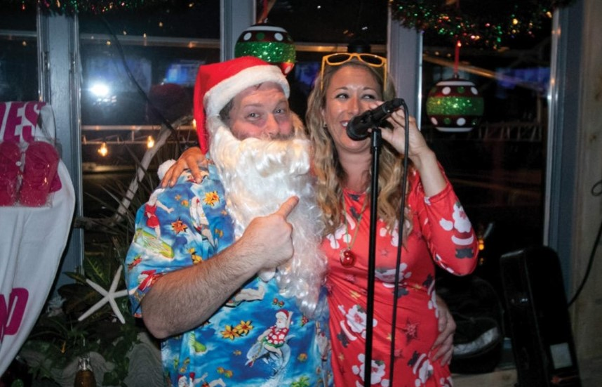 West Chester Native Showcases His Singing at 'Christmas in July' Food Drive at the Jersey Shore