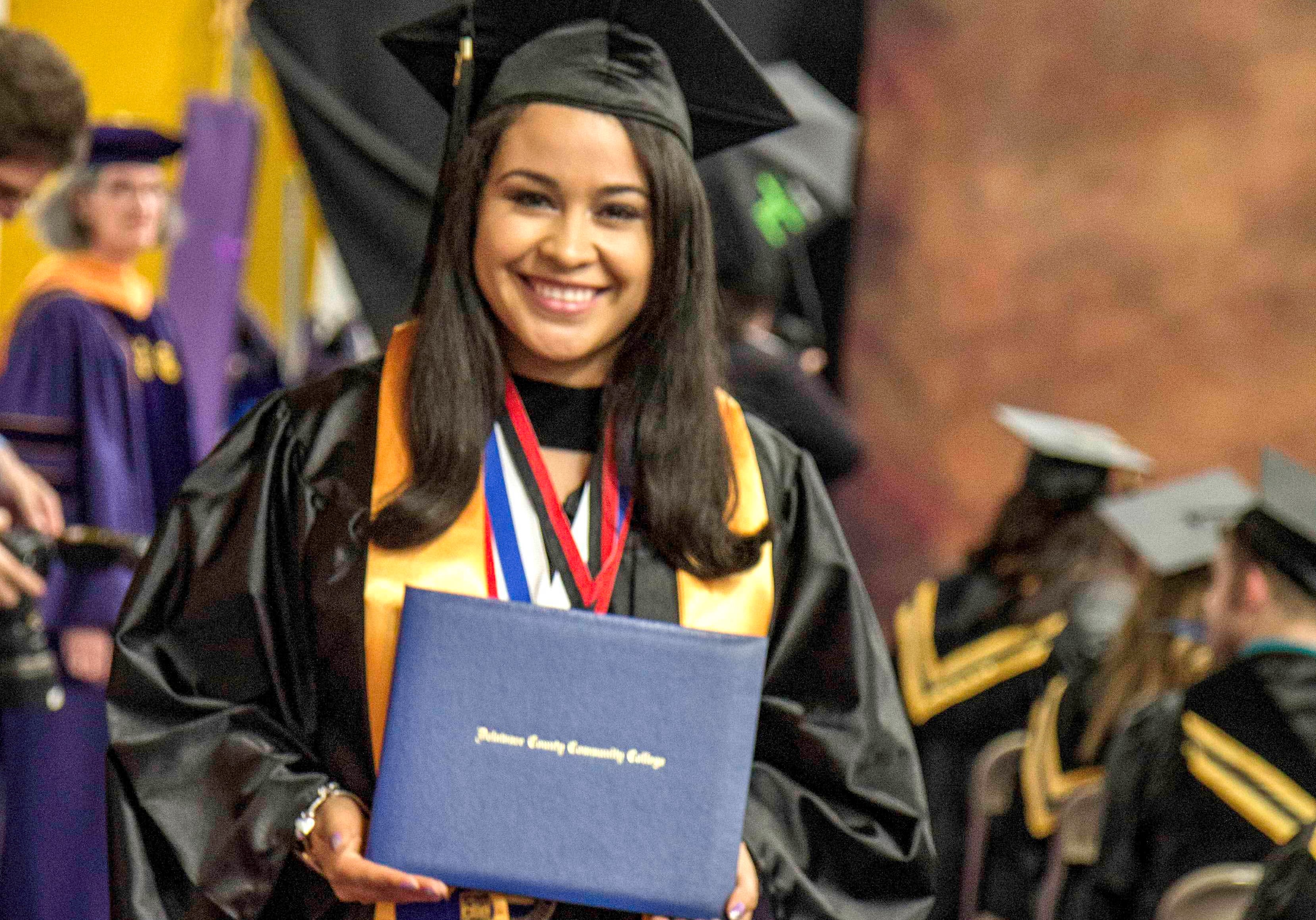 Student Flourishes at Delaware County Community College to Become Family's First Grad