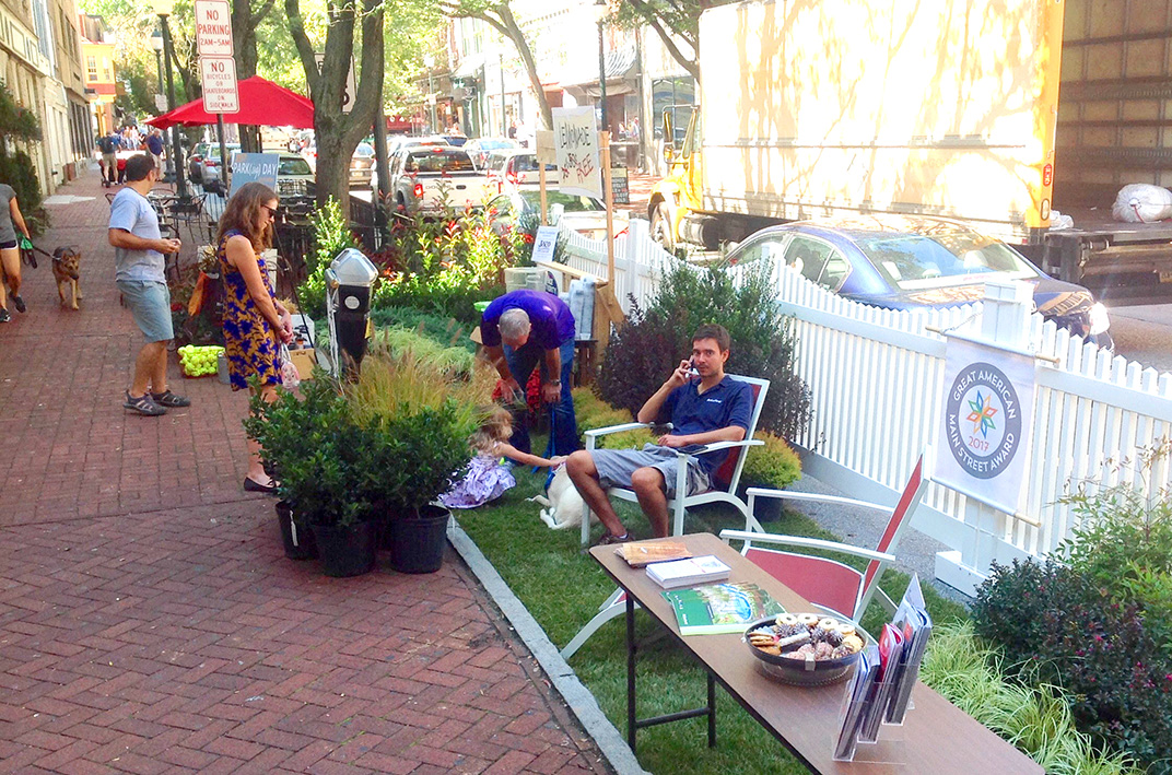 Celebrate Park(ing) Day with the Greater West Chester Chamber