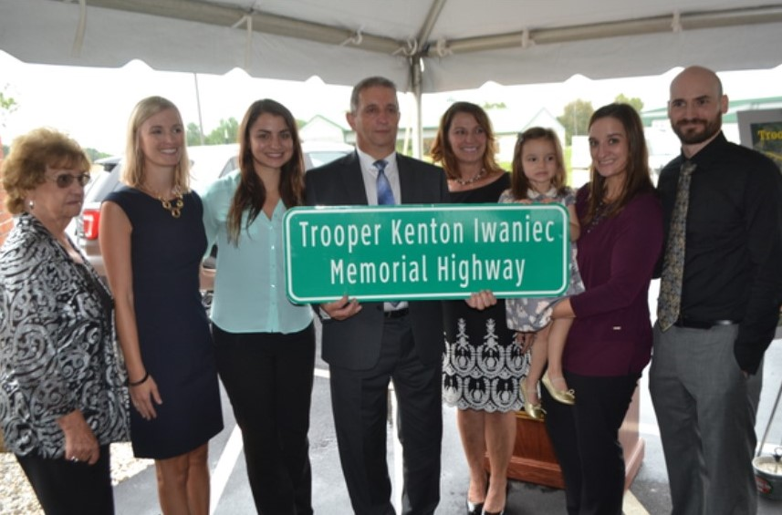 Portion of Route 41 Named in Honor of Fallen State Trooper