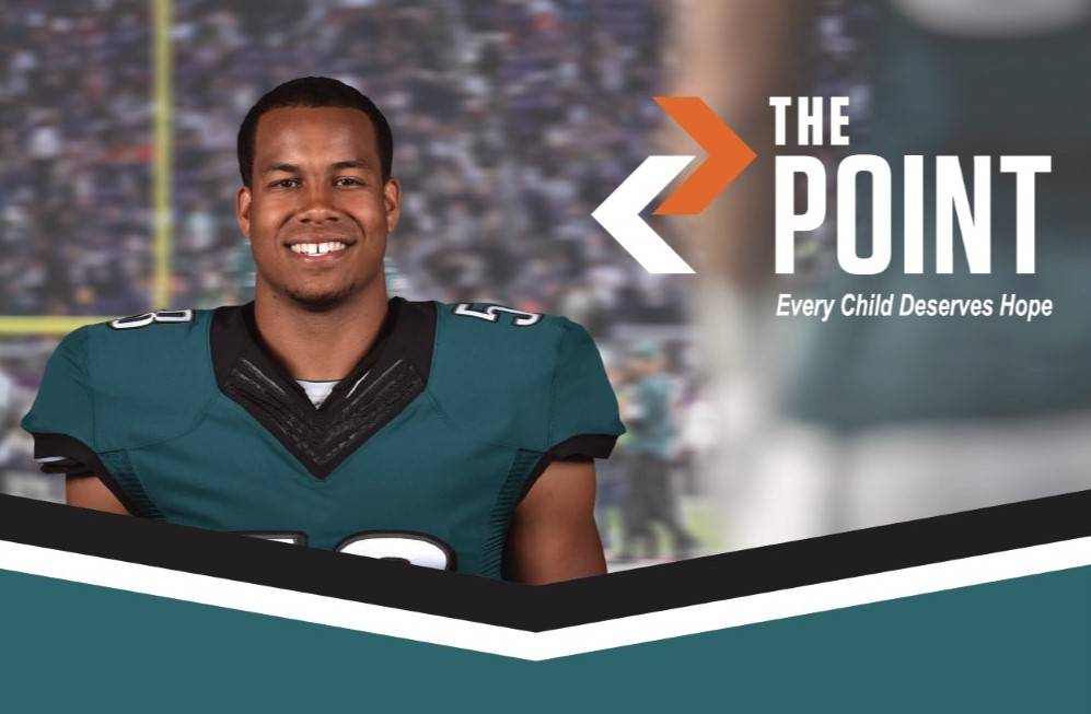 Watch Philadelphia Eagle Jordan Hicks's Q&A at the Parkesburg POINT