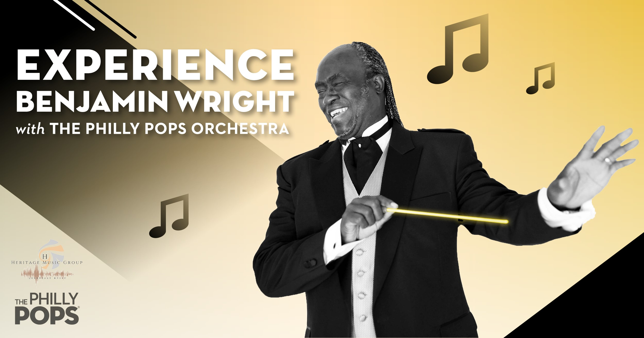 Experience Legendary Orchestrator Benjamin Wright with Philly POPS on Oct. 20 at Kimmel Center