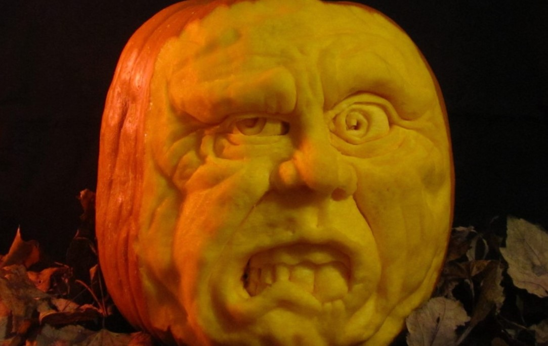 Glenmoore Man on His Pumpkin Carving: 'It's a Temporary Art That People Appreciate More'