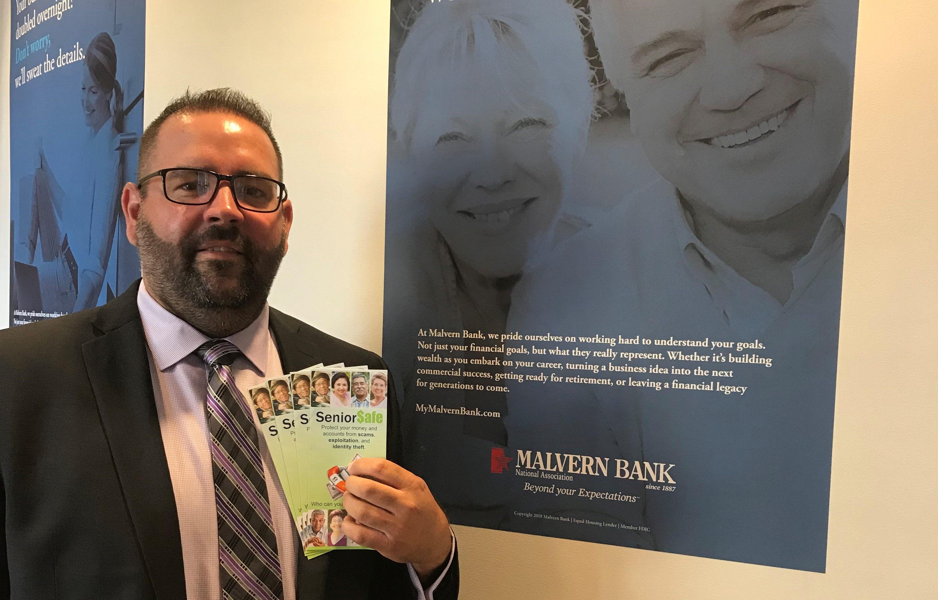Educating Seniors on Financial Fraud One of Many Ways Malvern Bank Gives Back to Community