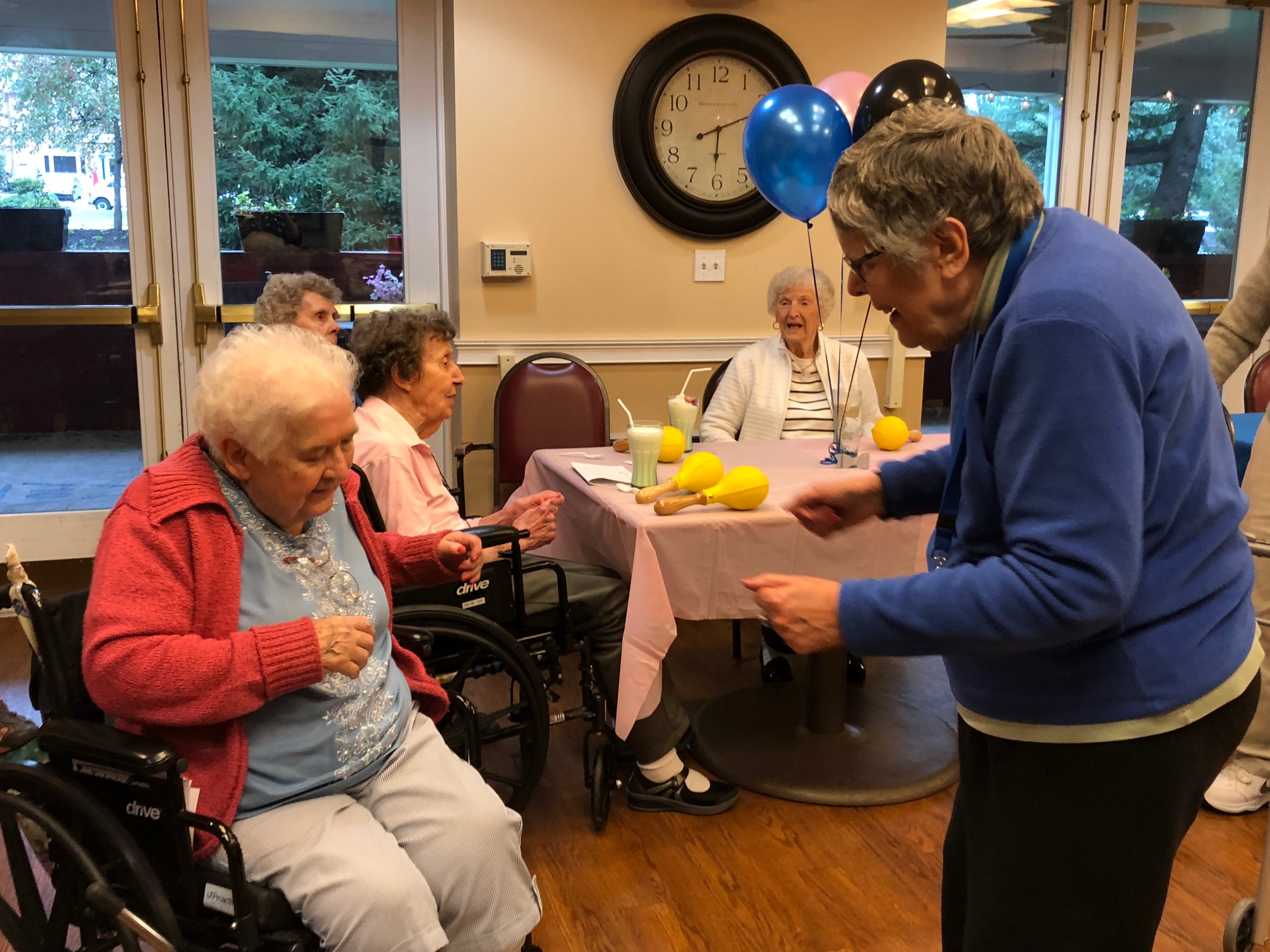 Residents at Five Star Senior Living in Exton 'Seize the Day' During National Assisted Living Week