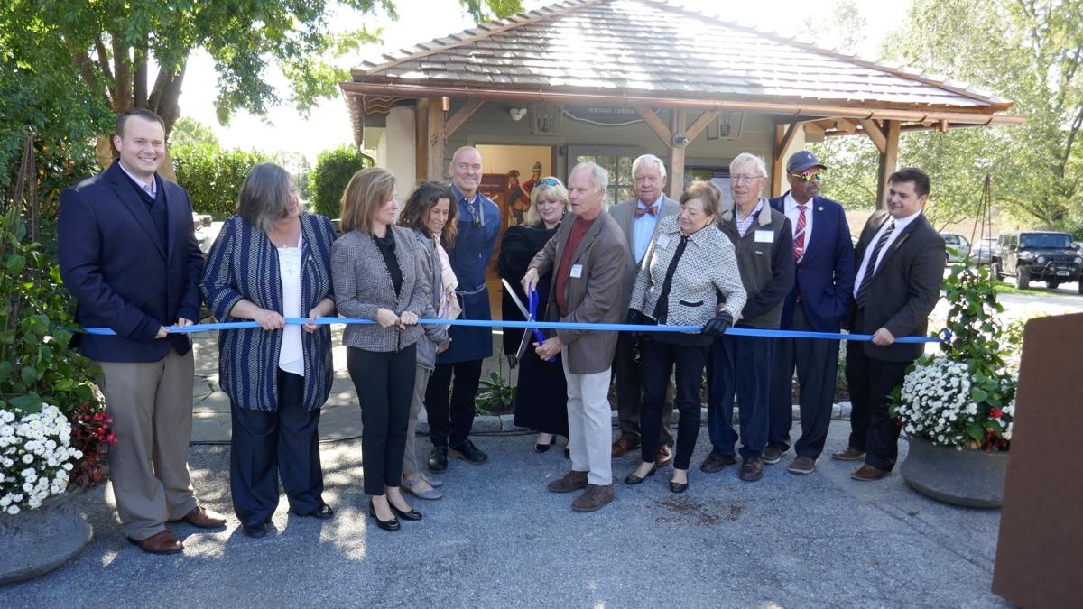 'Past Incorporated into Present' in New Marshallton Village Heritage Center