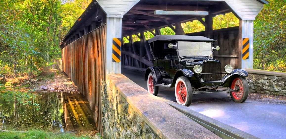 Chester County's Historic Beauty Perfectly Captured by Its Many Covered Bridges
