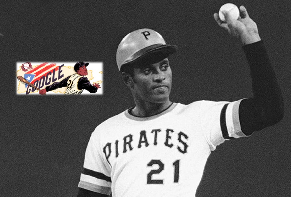 Google Honors Roberto Clemente, a Baseball Legend Forever Linked to West Chester