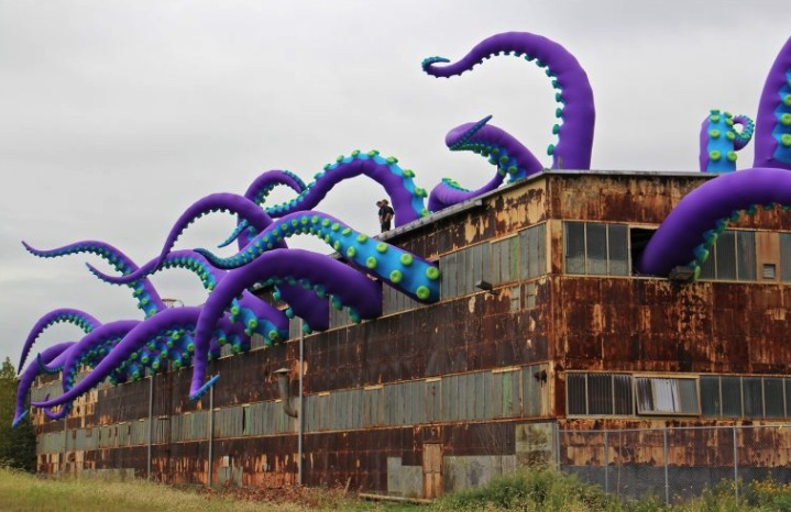 British Artists Create Navy Yard's First Installation of Public Art