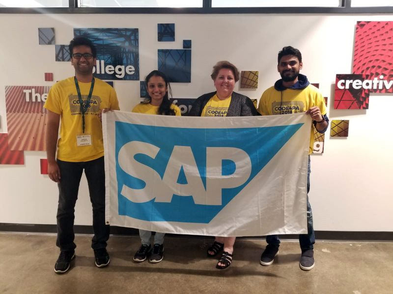 SAP Recognizes Penn State Great Valley Students for Their App That Helps Veterans Combat Opioid Abuse