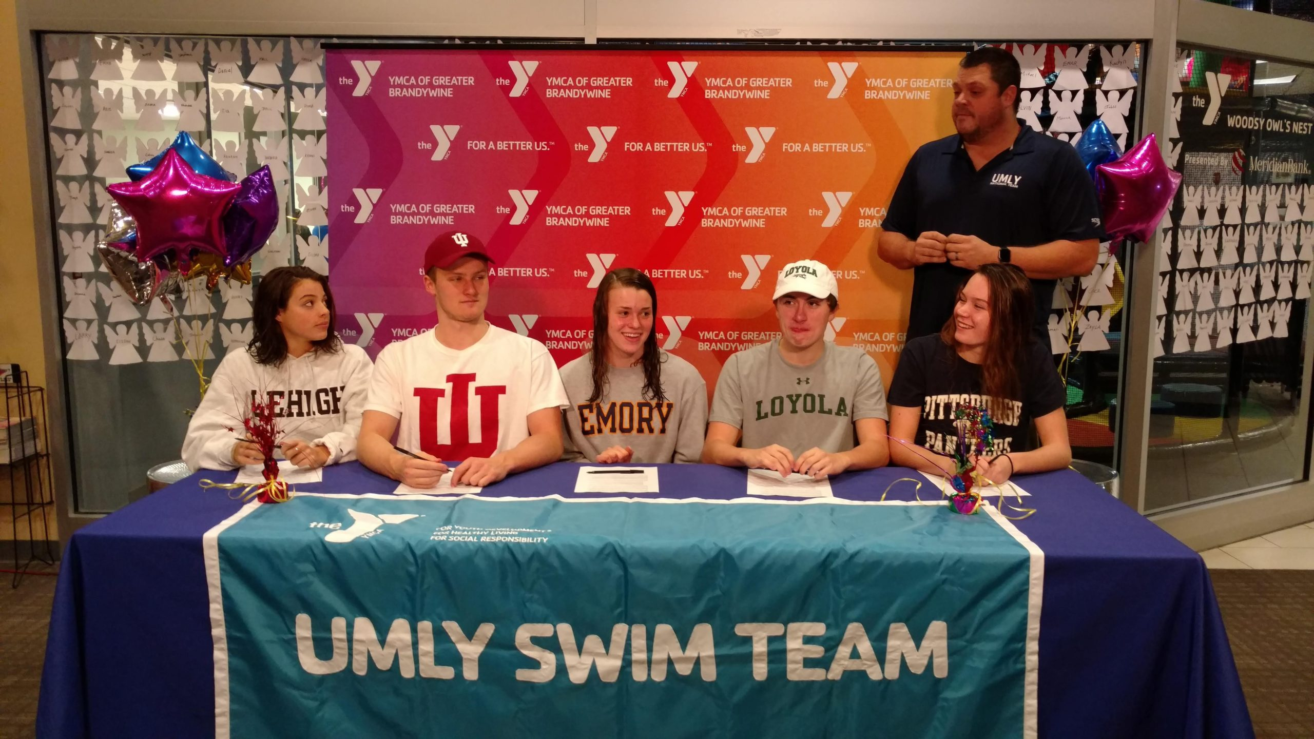 Six Swimmers from UMLY, Including Nation's Top Recruit, Make Their College Commitments