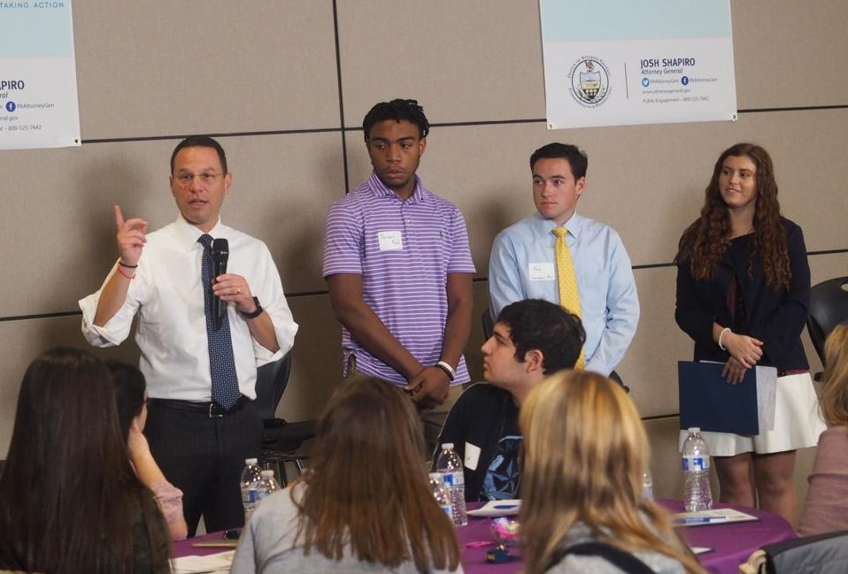 Pennsylvania Attorney General Hosts Anti-Bullying Forum at Phoenixville High School
