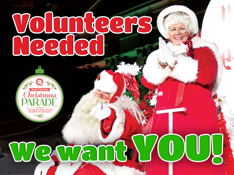 Ring in the Holiday Season, Volunteer for the QVC Christmas Parade