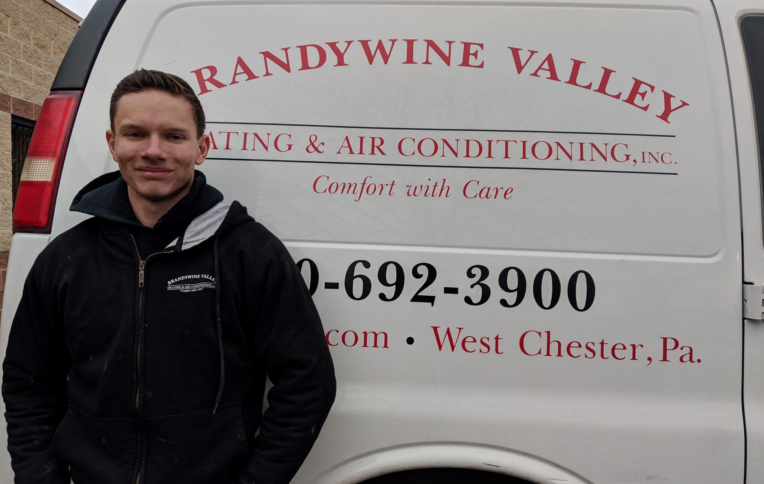 Junior Mechanic at Brandywine Valley HVAC: 'This Is Where I See Myself Until I Retire'