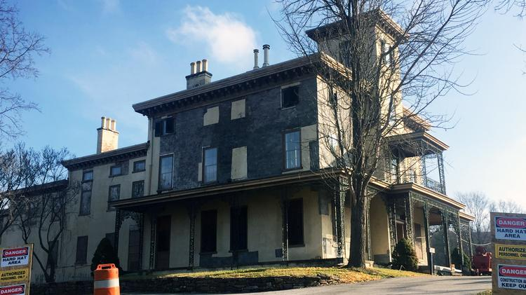 Historic Mansion at Valley Forge Park Being Renovated to Attract Future Tenants