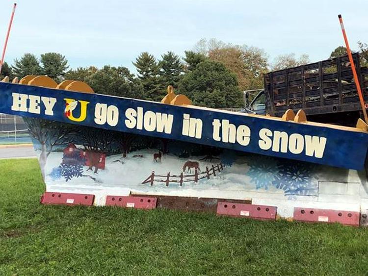 Unionville High School Wins PennDOT's Paint the Plow Contest