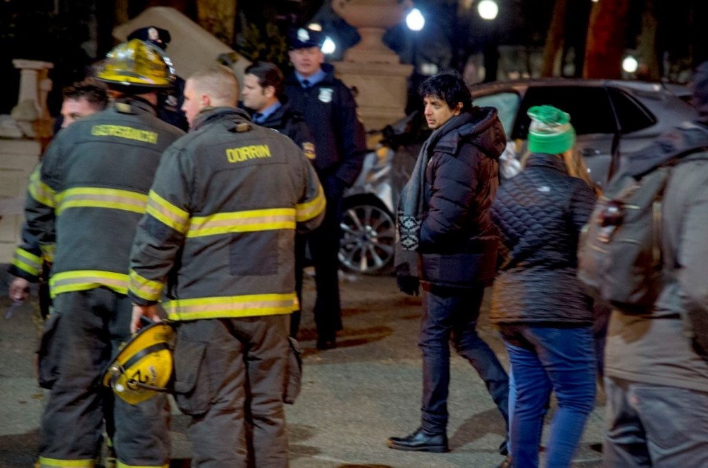 M. Night Shyamalan Spotted in Center City Shooting Scenes for New Series for Apple TV
