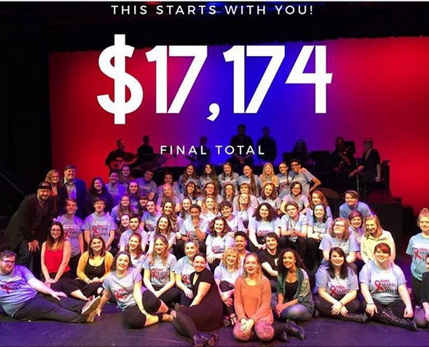 Student-Led University Theatre Group at WCU Raises $17,000 to Help Fight AIDS