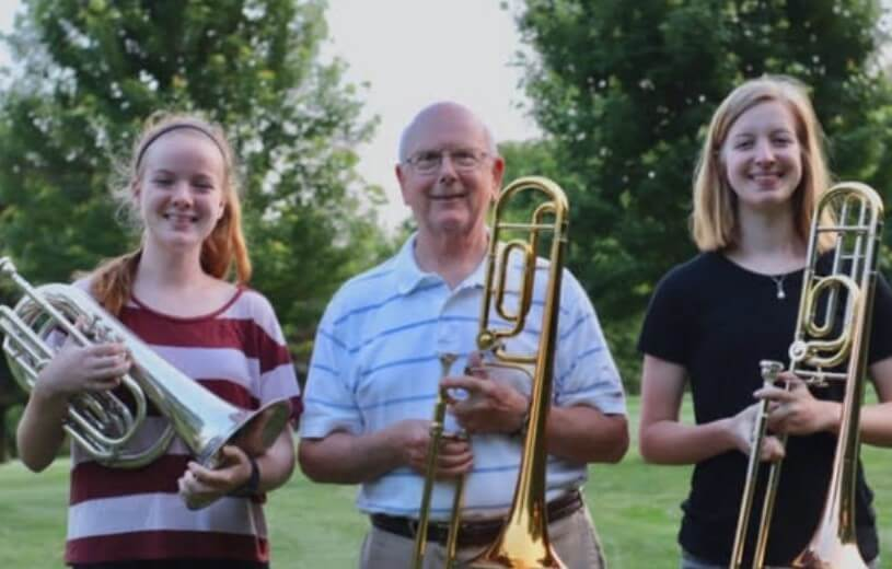 Local Sisters Continue in Grandfather's Footsteps by Marching in Tournament of Roses Parade