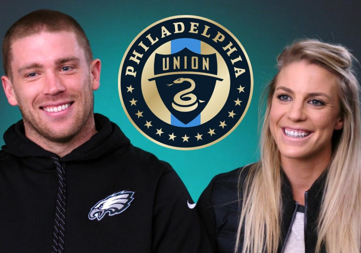 brand new 00e5c f2465 Zach and Julie Ertz Among Philadelphia Celebrities ...