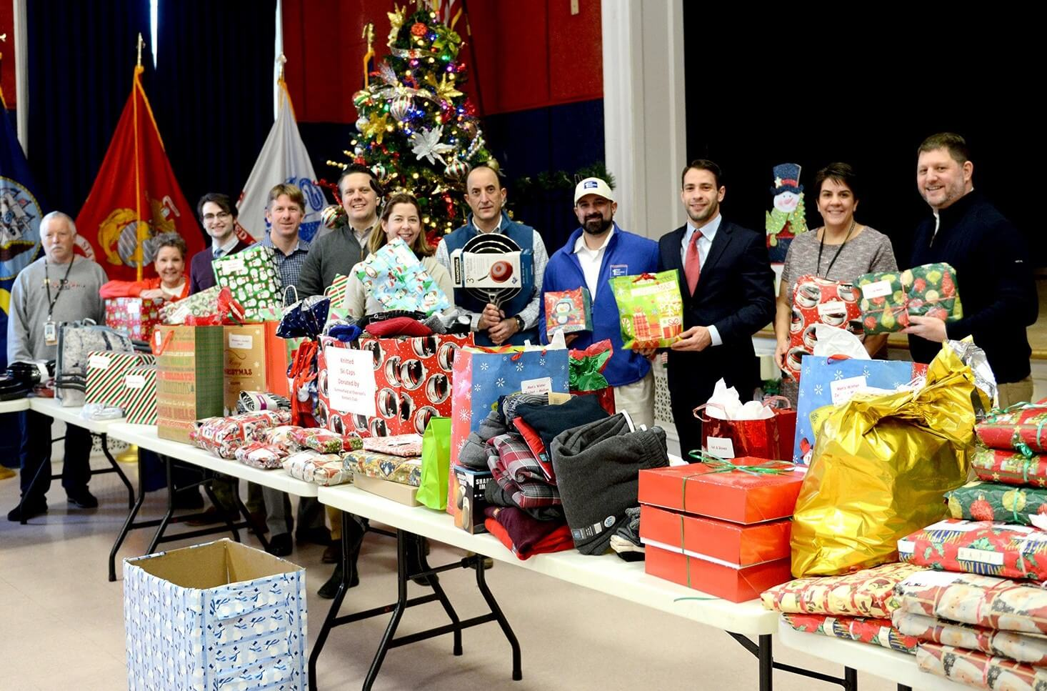 With Support from First Resource Bank, TMACC Delivers Hundreds of Gifts to Coatesville VA