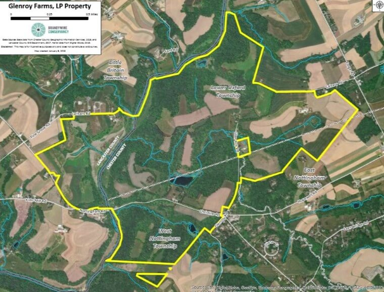 Brandywine Conservancy Receives $1.5 Million Grant to Help Acquire 569 Acres Along Octoraro Creek