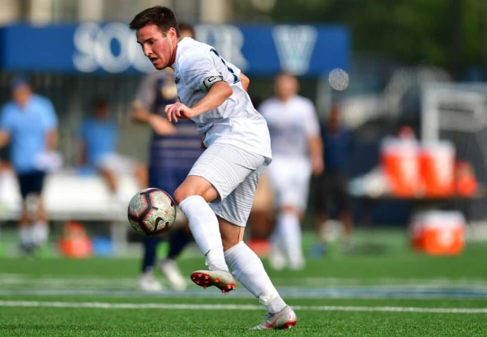 Henderson Grad's Successful Pro Soccer Debut Earns Him Player of the Week Honors