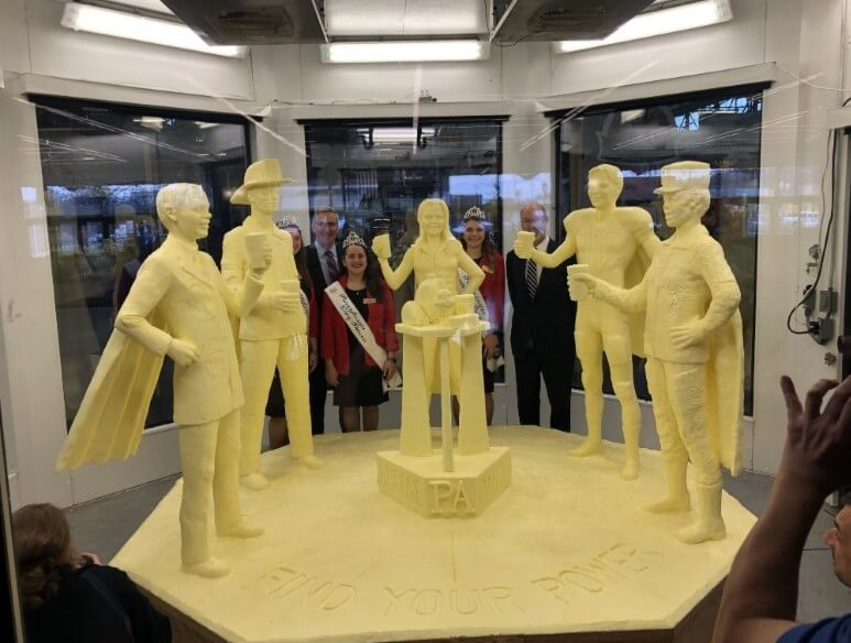 Cochranville Dairy Farmer Says Butter Sculpture at This Year's Farm Show Sends Powerful Message