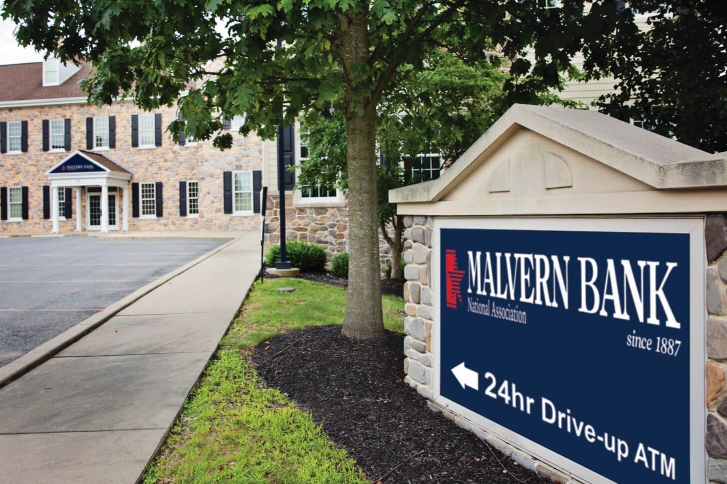 Malvern Bank to Open Private Client Representative Office in Hartshorne Mansion in West Chester
