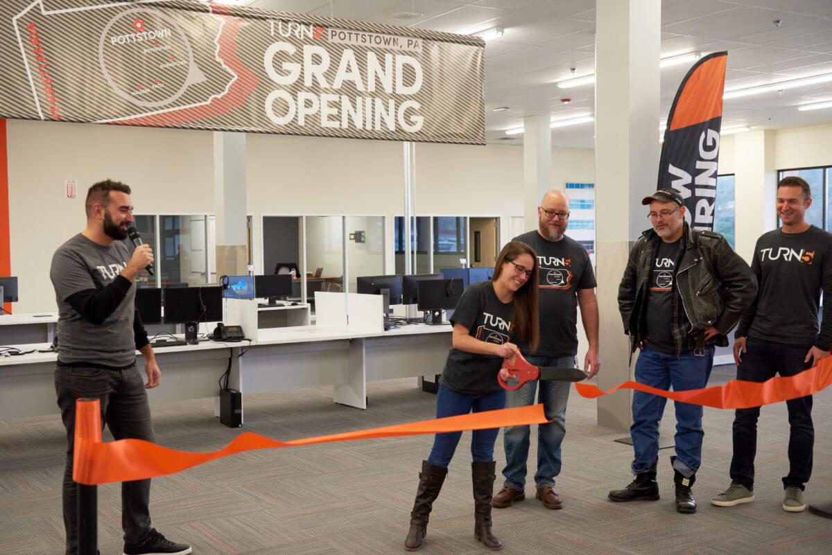 Paoli-Based Turn5 Opens New Customer Service Hub in Pottstown