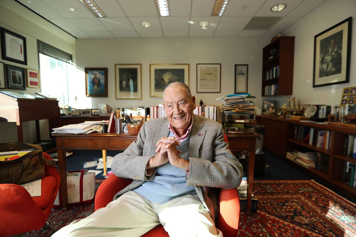 John C. Bogle, Founder of Vanguard and Fierce Advocate for Investors' Rights, Dies at 89