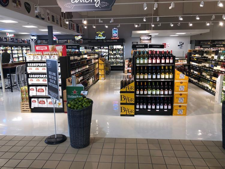 Giant Opens New Beer and Wine Eatery at Its Bradford Plaza Store