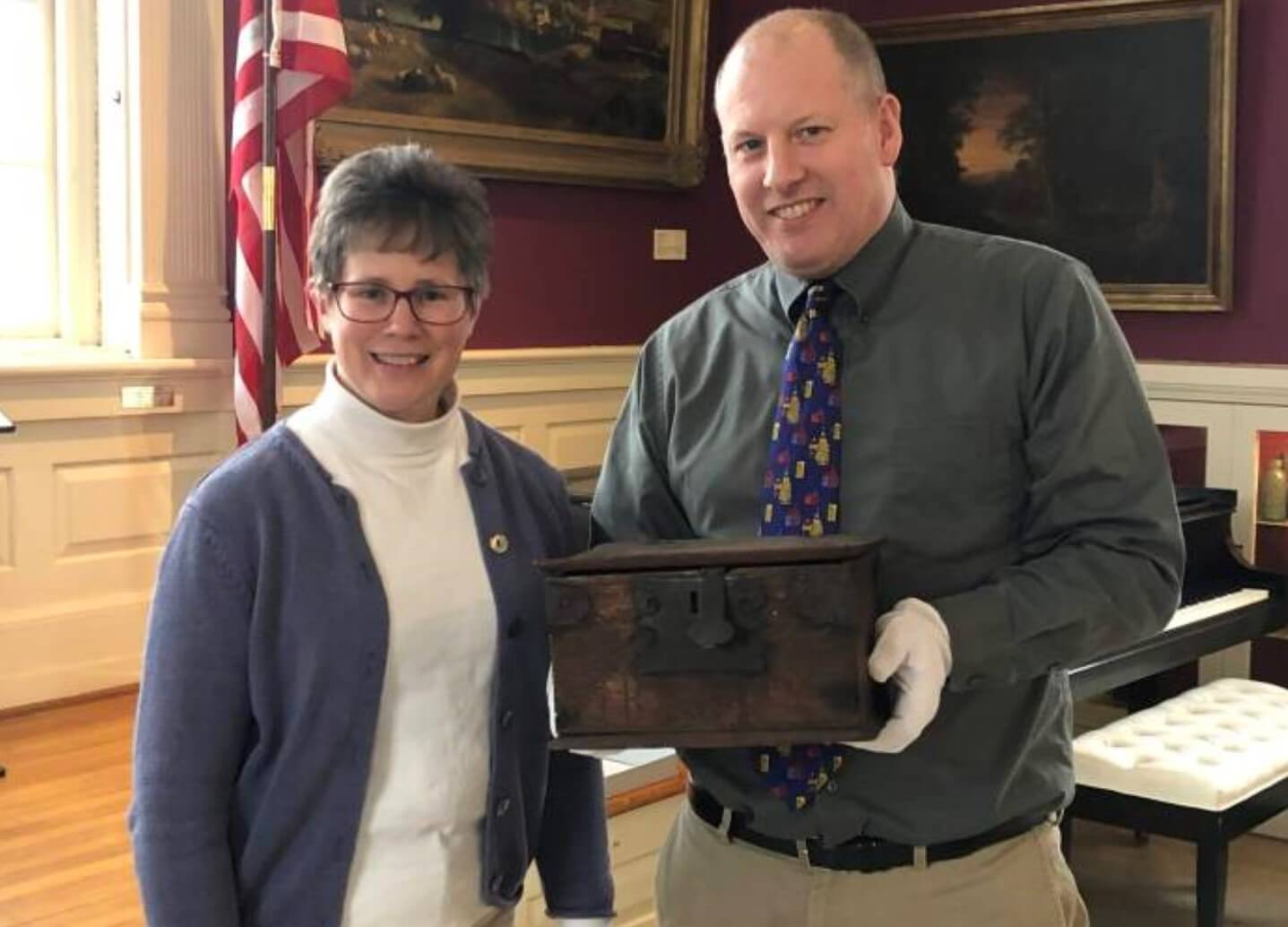 Berks History Center Transfers Local Artifact to Care of Chester County Historical Society