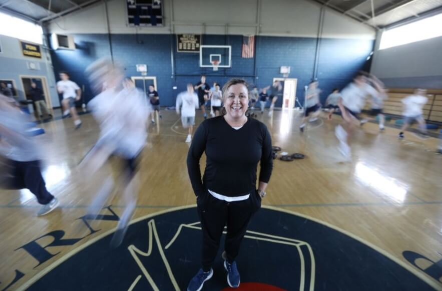 Villa Maria Grad Thrives at Malvern Prep in Role Usually Reserved for Men