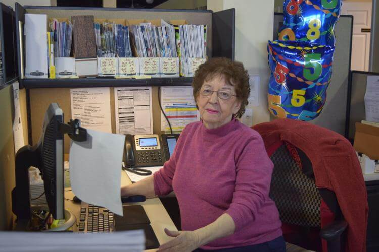Administrative Assistant, 85, at Great Valley Publishing in Spring City Has No Plans to Retire … Again