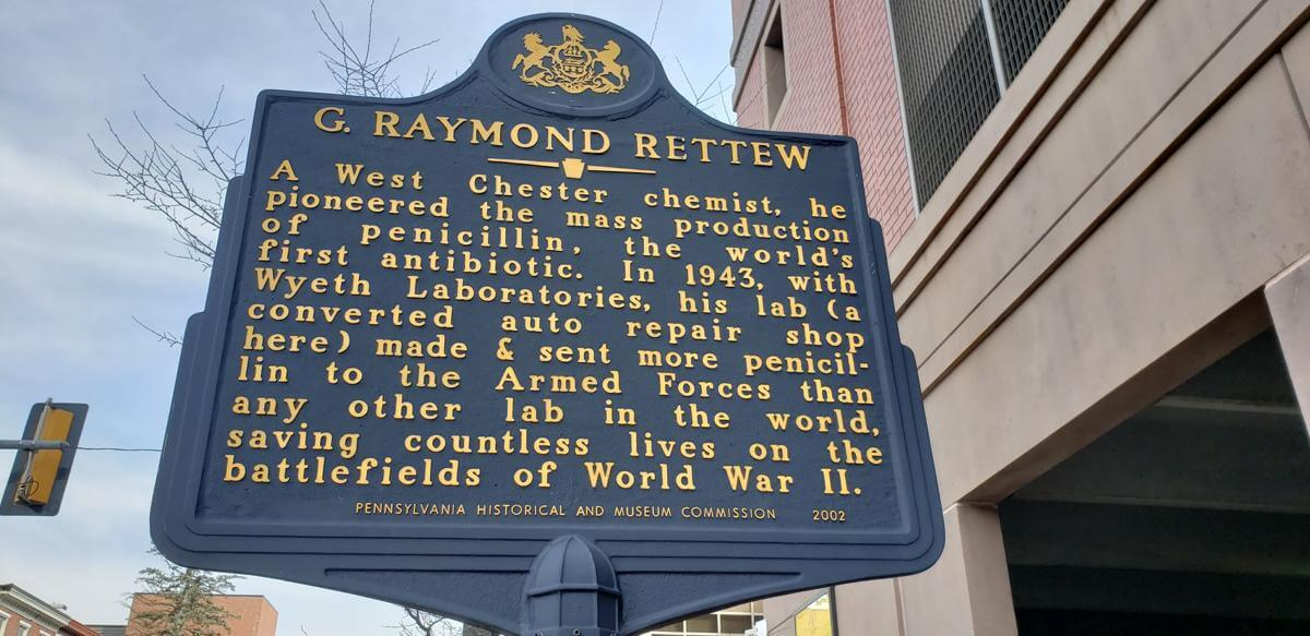 Penicillin Used in WWII Was Mass Produced in West Chester by Unsung Local Hero