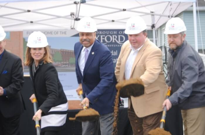 Construction of New Parking Garage Begins in Oxford; Project Hailed as Catalyst for Economic Development