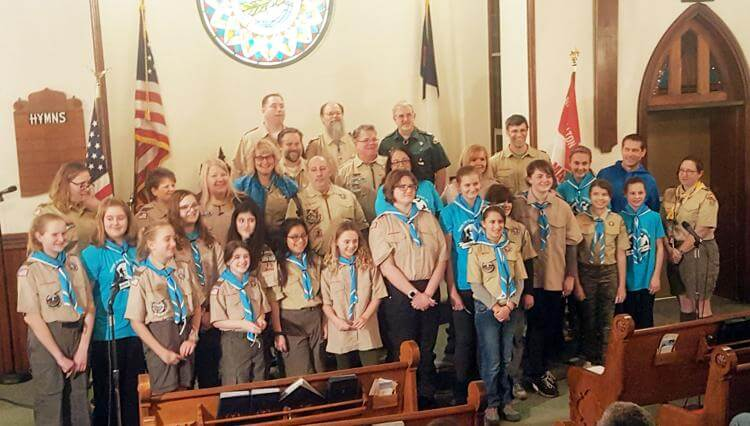 Local Troop Becomes One of Nation's First All-Girl Boy Scout Troops