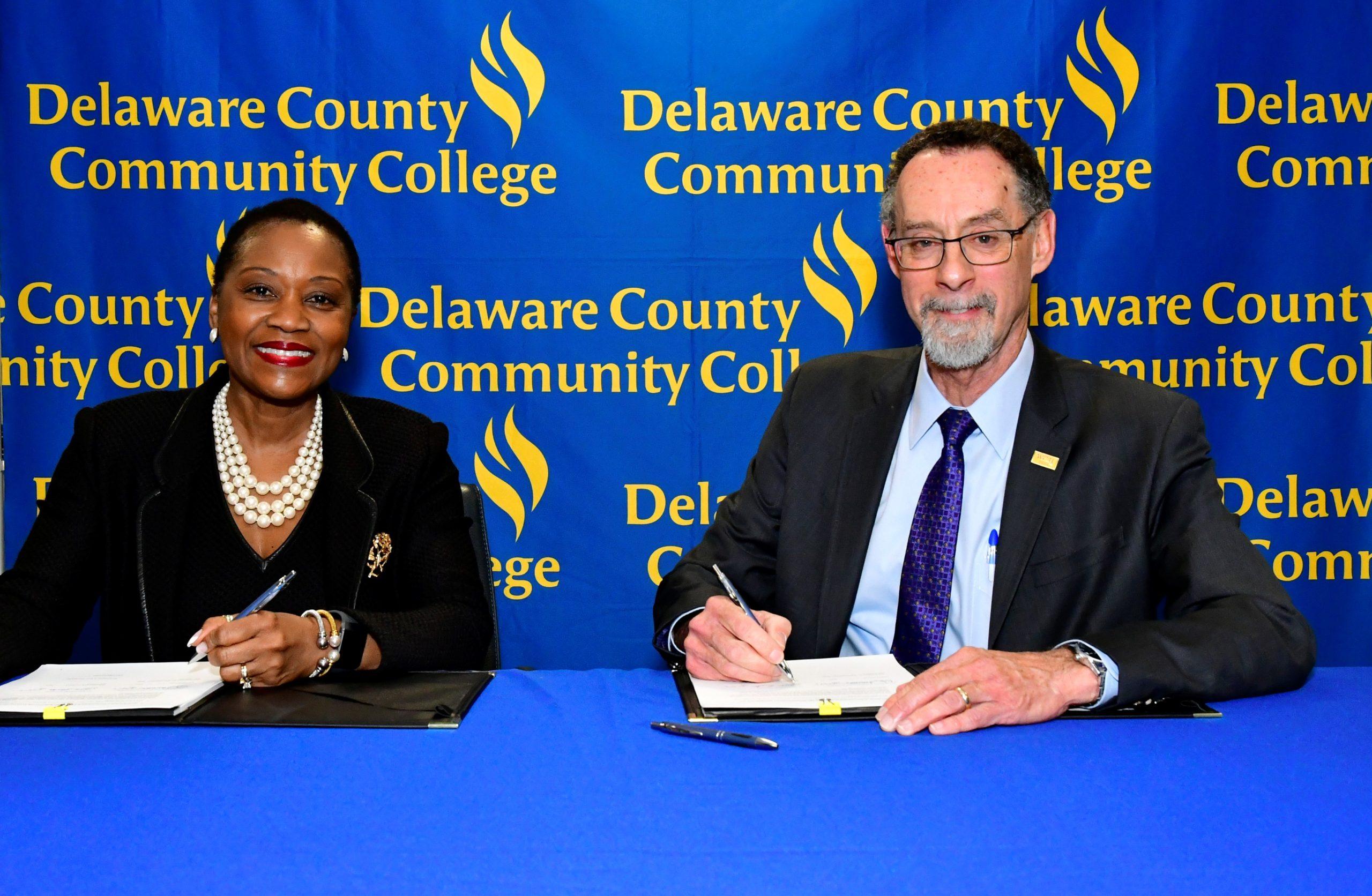 New Agreement Between WCU, Delaware County Community College Benefits Nursing Students
