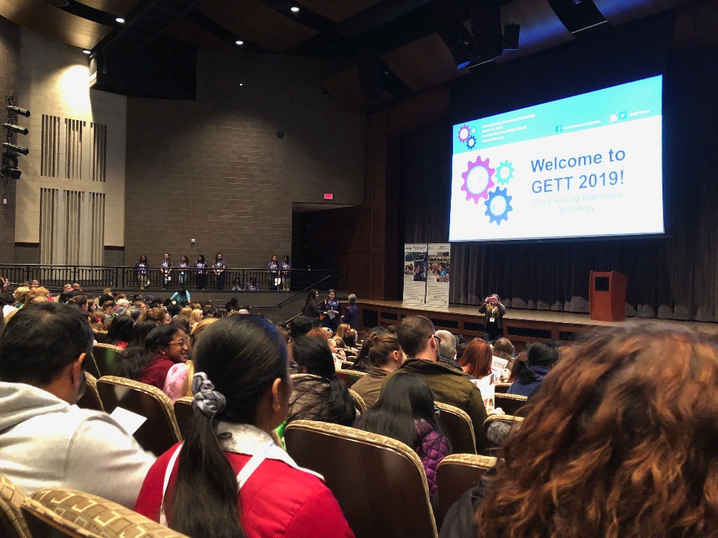 Girls from 215 Schools Across the Region Explore Careers in Science, Tech at Annual GETT
