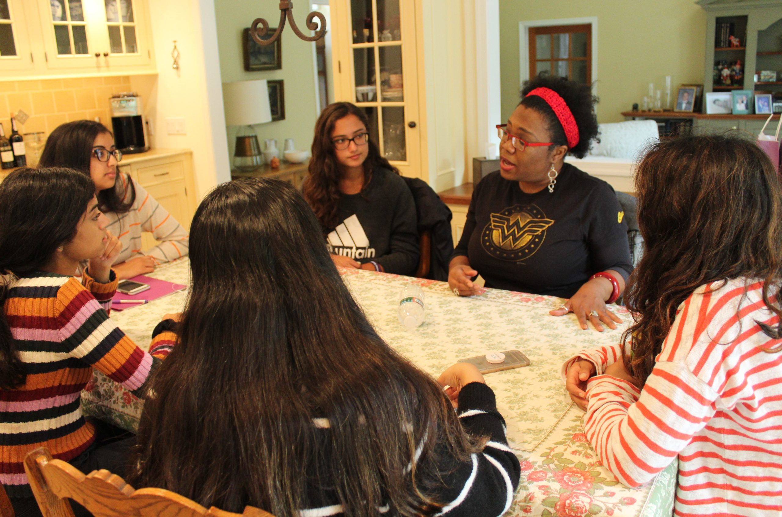 Henderson High School Student's Participation in CCFWG's Girls Advisory Board Shapes Her Future