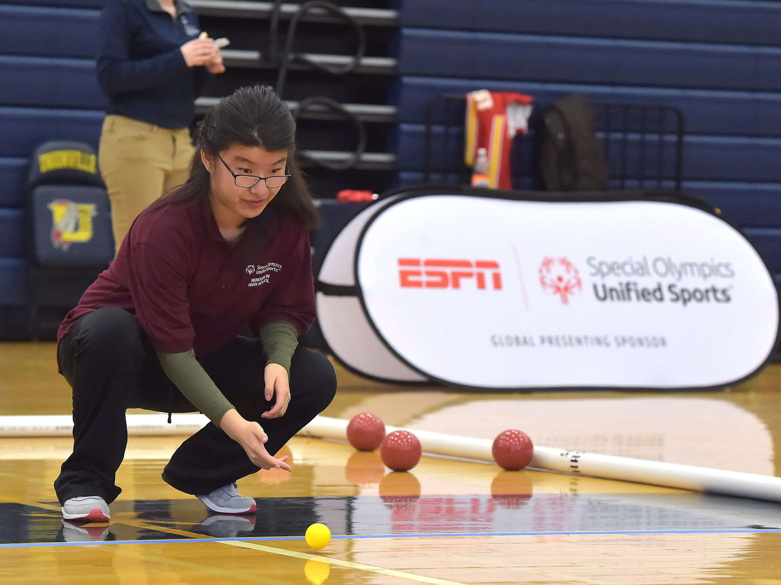 Inaugural Event Proves Bocce to Be a Great Vehicle for Bringing Together Students of All Abilities