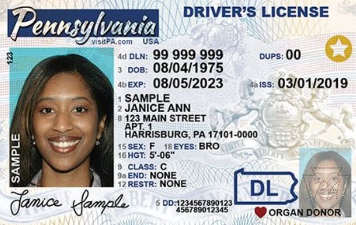 REAL ID Licenses Now Available to Pennsylvania Residents