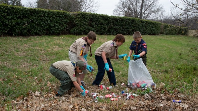 Chester County Boy Scouts Celebrate Centennial Not with Cake and Candles, but a Day of Service