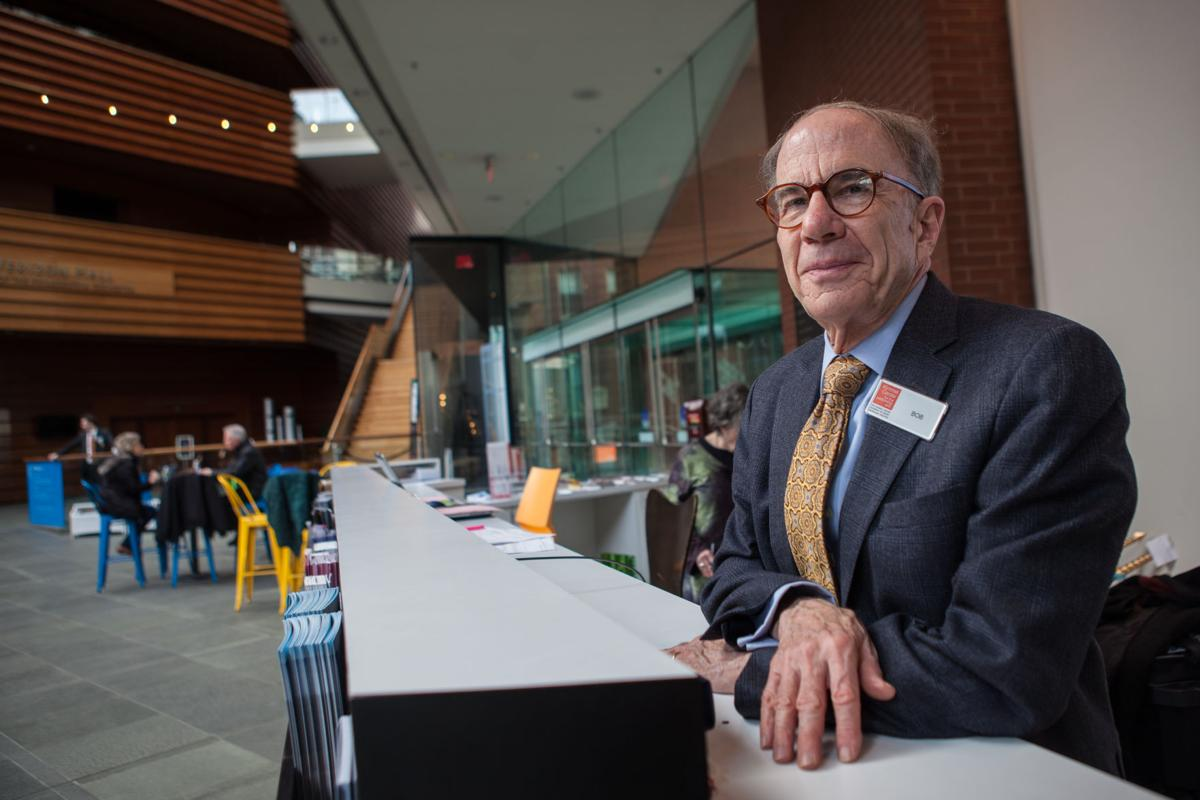 Retired Minister from West Chester Replaces Pulpit with Information Desk at the Kimmel Center