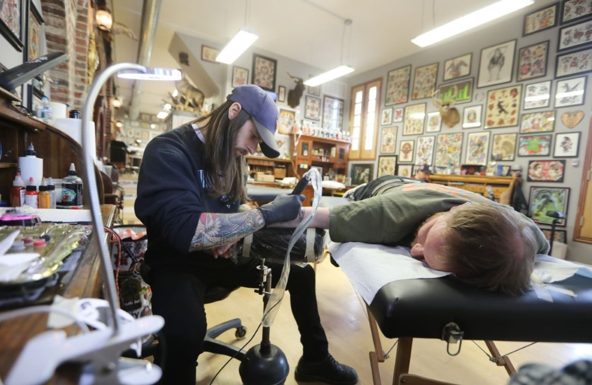 West Chester Man One of Many Using Their Tax Returns for New Tattoos