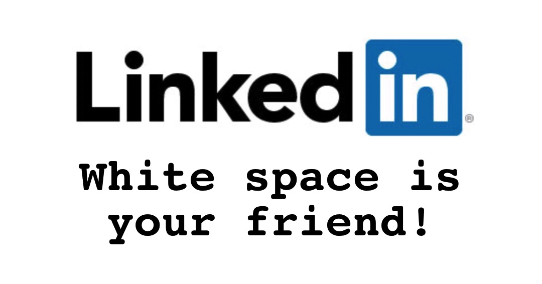 Make Your Linkedin Profile Skimmable and Scannable