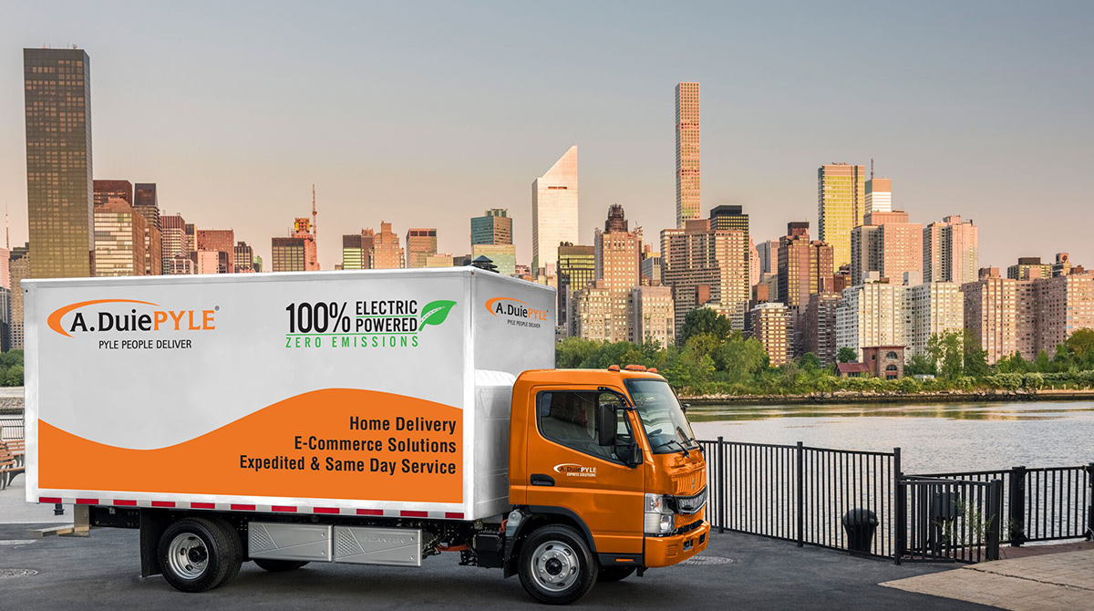West Chester's A. Duie Pyle Steps Up Involvement in Electrified Commercial Vehicles