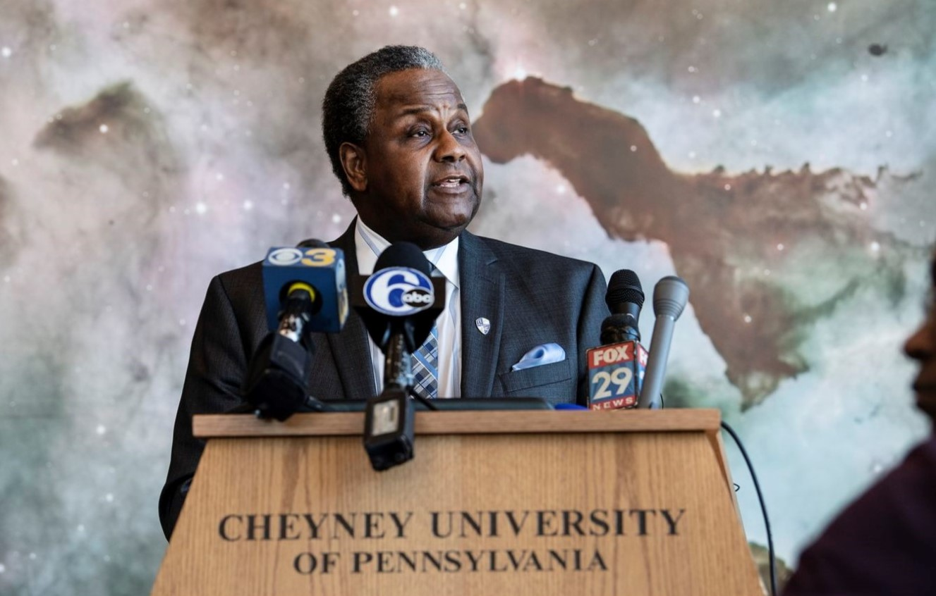 Cheyney's President Has a Plan to Save Nation's Oldest HBCU