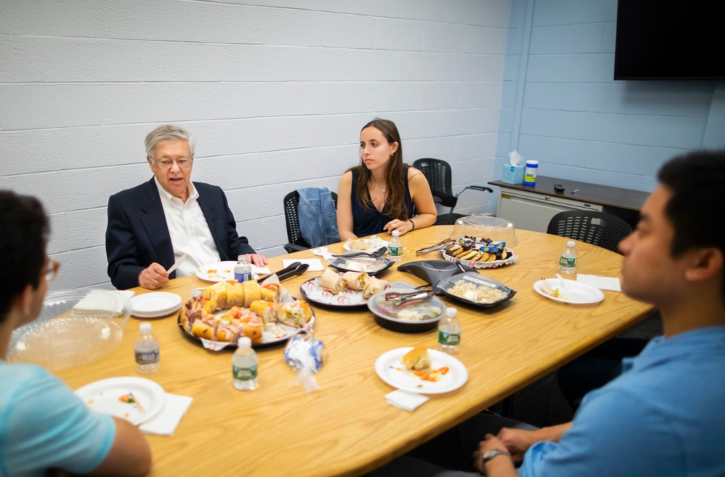 Creative Approach to Class Project Earns Penn Senior from Phoenixville Lunch with Nobel Laureate